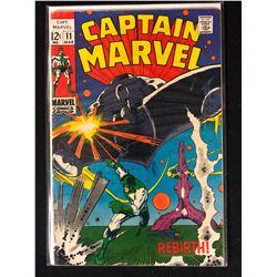 CAPTAIN MARVEL NO. 11 COMIC BOOK