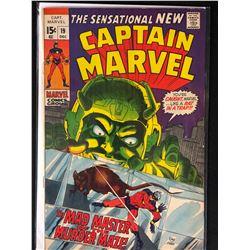 CAPTAIN MARVEL NO. 19 COMIC BOOK