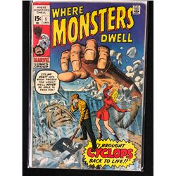 WHERE MONSTERS DWELL NO.1 COMIC BOOK