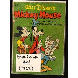 WALT DISNEY FOUR COLOR NO.401 (1952)