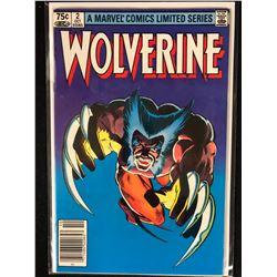 A MARVEL COMIC LIMITED SERIES WOLVERINE NO.2 ( MINT)