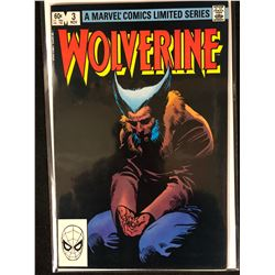 A MARVEL COMIC LIMITED SERIES WOLVERINE NO.3 ( MINT)