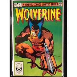 A MARVEL COMIC LIMITED SERIES WOLVERINE NO.4 ( MINT)