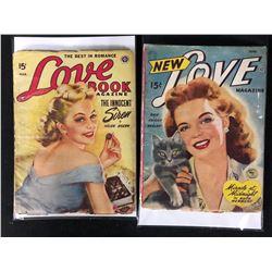 THE BEST IN ROMANCE COMIC LOT ( LOVE BOOK / NEW LOVE)