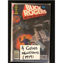 BUCK ROGERS 4 COPIES (NEWSTAND 1979)