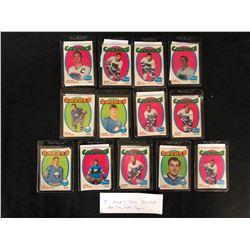 1970 HOCKEY CARD LOT