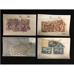 CANADIAN STAMPS LOT (NEWFOUNDLAND/ AIR)