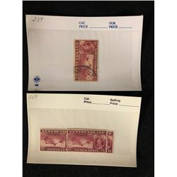 CANADIAN STAMPS LOT (NEWFOUNDLAND) 15 CENTS