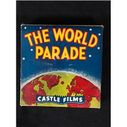 """Castle Films 8mm Complete Edition Film Reel mint in box """"The World Parade"""""""