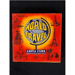 """Castle Films 8mm Complete Edition Film Reel mint in box """"World Travel"""""""