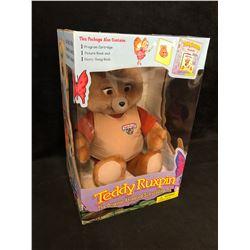 NEW IN BOX TEDDY RUXPIN TOY
