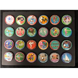 VINTAGE 1984 LOS ANGELES OLYMPICS BUTTON LOT