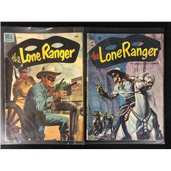 LONE RANGER COMIC BOOK LOT