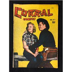 CORRAL COMICS NO.21 1951