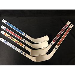 NHL MINI STICKS LOT ( CANADIAN TEAMS)