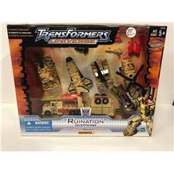 MINT IN SEALED BOX TRANSFORMER UNIVERSE COLLECTOR SET