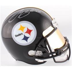 Le'Veon Bell Signed Steelers Full-Size Helmet With Mirrored Visor (JSA COA)