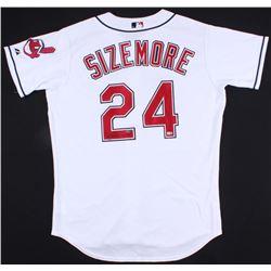Grady Sizemore Signed Indians Jersey (UDA COA & MLB Hologram)