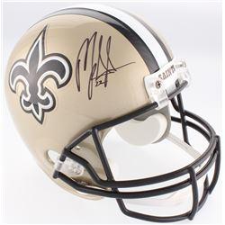 Mark Ingram Jr. Signed Saints Full-Size Helmet (Ingram Hologram)