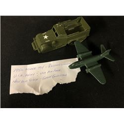 1950 MIDGE TOY - ROCKFORD ILLINOIS,  U.S.A ARMY & U.S.A AIR FORCE (NEW OLD STOCK)