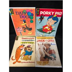 VINTAGE COMIC BOOK LOT (DAFFY DUCK/ PORKY PIG...)