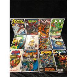 COMIC BOOK LOT (FLASH/ SPAWN/ ACTION COMICS...)