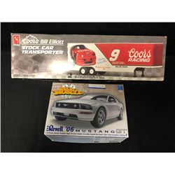 UN-BUILT AMT AND REVELL MODEL CAR LOT