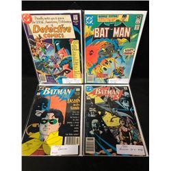 DETECTIVE AND BATMAN COMIC BOOK LOT