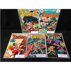 TARZAN COMIC BOOK LOT