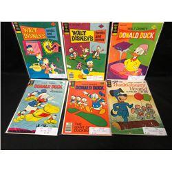 1960-70'S GOLD KEY COMIC BOOK LOT (DONALD DUCK/ HUCKLEBERRY HOUND...)