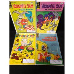 GOLD KEY COMIC BOOK LOT (YOSEMITE SAM/ PORKY PIG...)