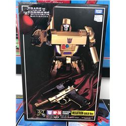 NEW IN BOX TRANSFORMERS MASTERPIECE MEGATRON GOLD VERSION