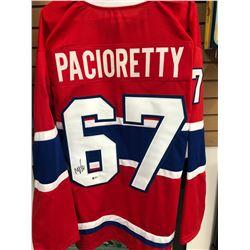 Max Pacioretty Signed Canadiens Jersey (Beckett COA)