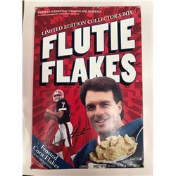 SEALED FLUTIE FLAKES CEREAL BOX