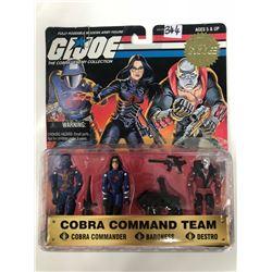 1997 G.I. JOE COBRA COMMAND TEAM- Cobra Commander, Baroness & Destro