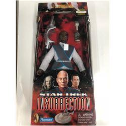 1998 Lt. Commander Worf Figure Star Trek Insurrection Collectors Series