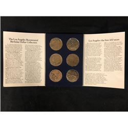 THE LOS ANGELES BICENTENNIAL BIRTHDAY DOLLAR COLLECTION