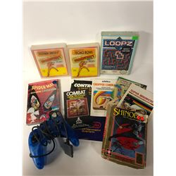 VIDEO GAME CASES/ BOXES & MANUALS LOT