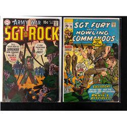 COMIC BOOK LOT (SGT. ROCK #222/ SGT. FURY #84)
