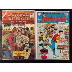 COMIC BOOK LOT (WYATT EARP/ JERRY LEWIS #114)