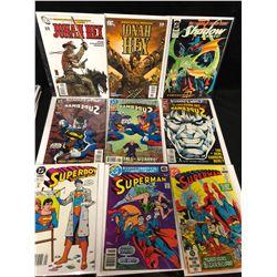 COMIC BOOK LOT (SUPERMAN/ JONAH HEX/ THE SHADOW STRIKES...)