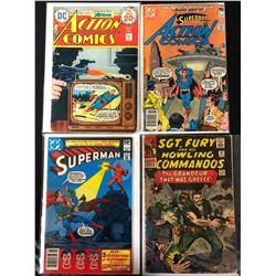 COMIC BOOK LOT (ACTION/ SUPERMAN...)