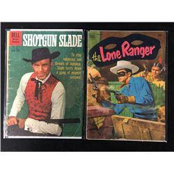 VINTAGE COMIC BOOK LOT (SHOTGUN SLADE/ LONE RANGER)