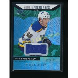 17-18 Upper Deck Trilogy Green #65 Ivan Barbashev