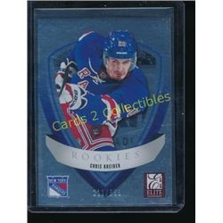 2012-13 Elite Rookies #38 Chris Kreider 211/999