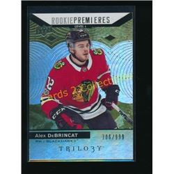 17-18 Upper Deck Trilogy #68 Alex DeBrincat RC