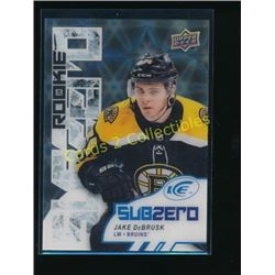 17-18 Upper Deck Ice Sub Zero #SZ59 Jake DeBrusk