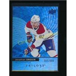 17-18 Upper Deck Trilogy Blue #47 Jonathan Drouin