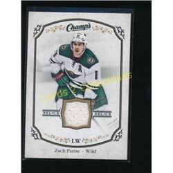 15-16 Upper Deck Champ's Jerseys #JZP Zach Parise