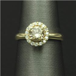 0.90 ctw Diamond Wedding Ring - 14KT Yellow Gold